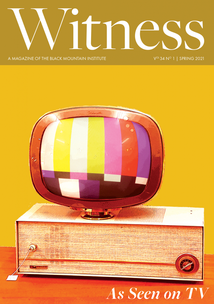 Witness magazine cover for As Seen on TV (Spring 2021)